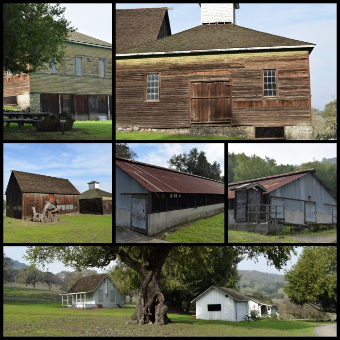 Barn, Salt house, Blacksmith house, Dairy Barn
